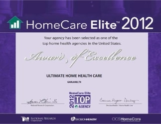 2012 award