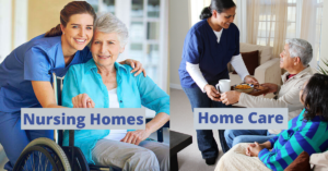 Cost of Home Care vs. Nursing Homes